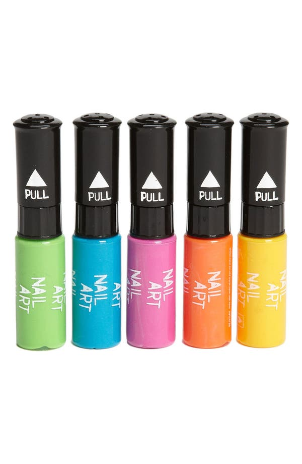 Alternate Image 1 Selected - NPW Nail Art Pens (Set of 5) (Girls)