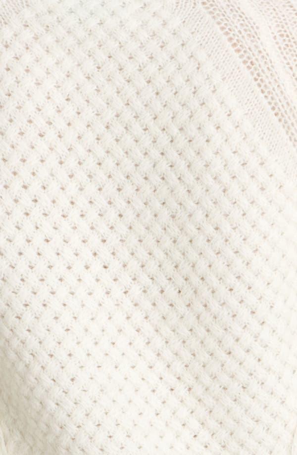 Alternate Image 3  - A.L.C. 'Montgomery Fisherman' Knit Sweater