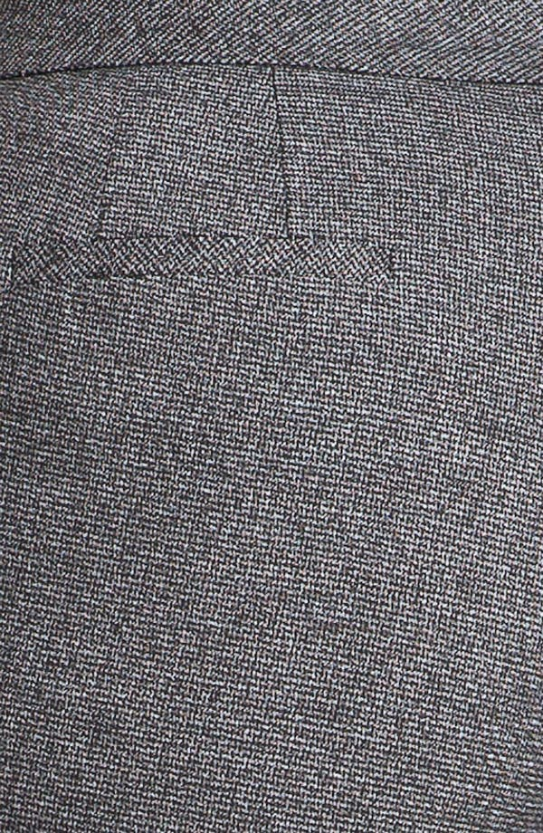 Alternate Image 3  - Sejour Herringbone Suit Trousers (Plus)