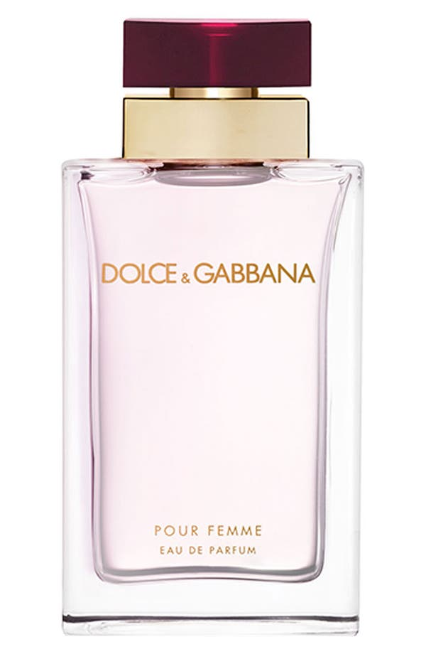 Alternate Image 1 Selected - Dolce&Gabbana Beauty 'Pour Femme' Eau de Parfum