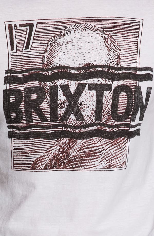Alternate Image 3  - Brixton 'Courier' Graphic T-Shirt