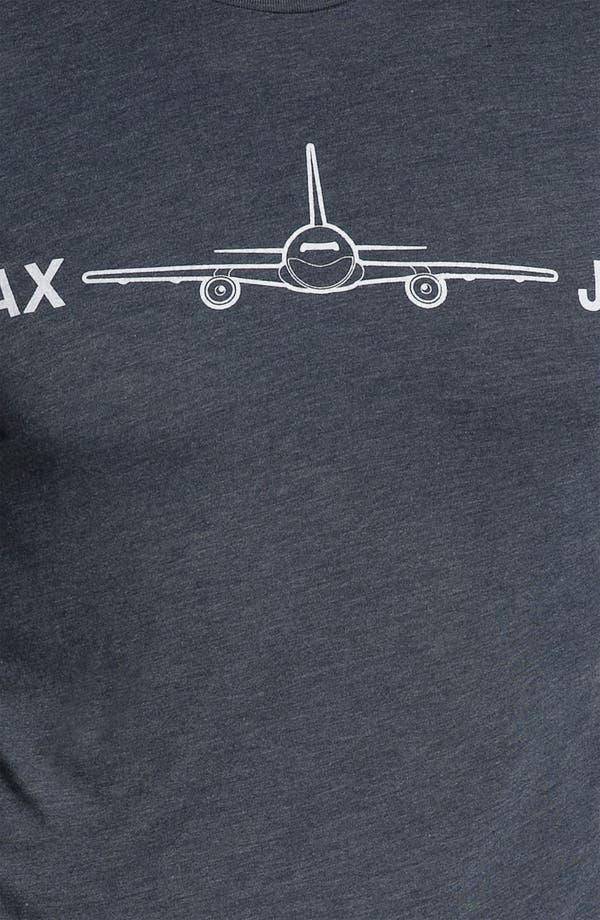 Alternate Image 3  - DiLascia 'LAX - JFK' T-Shirt