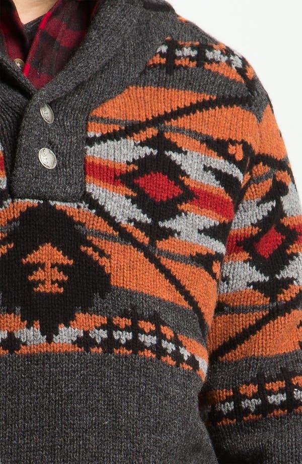 Alternate Image 3  - Pendleton Shawl Collar Sweater