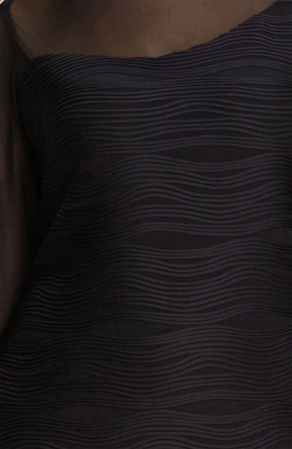 Alternate Image 3  - Donna  Ricco Illusion Sheath Dress (Plus)