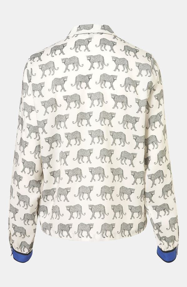 Alternate Image 2  - Topshop 'Cheetah' Shirt