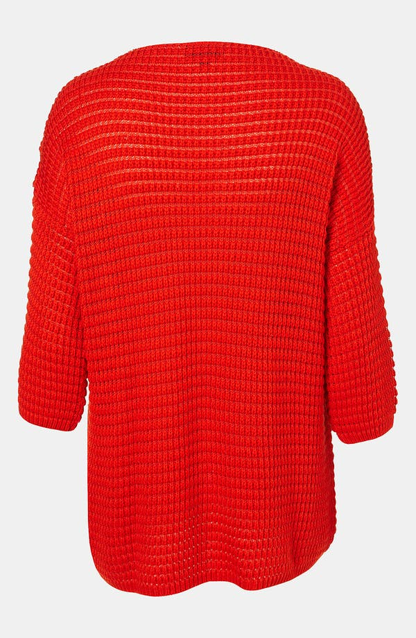 Alternate Image 2  - Topshop Textured Knit Sweater