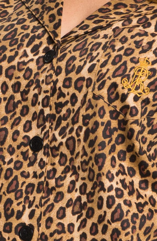 Alternate Image 3  - Lauren Ralph Lauren Sleepwear Pattern Pajamas