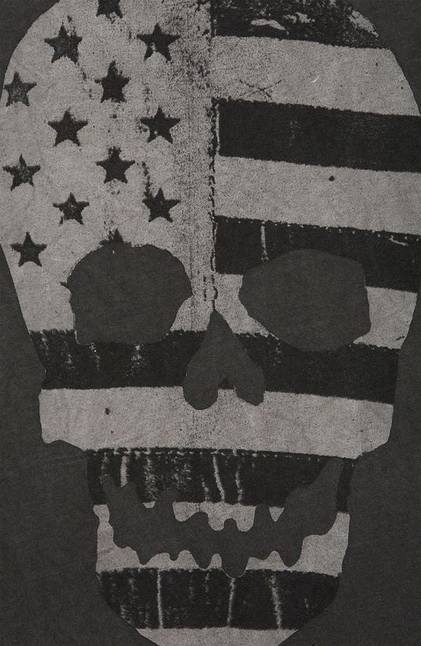 Alternate Image 3  - Topshop 'Flag Skull' Graphic Tank