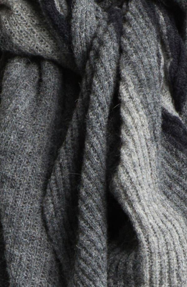 Alternate Image 2  - Eileen Fisher Ombré Knit Scarf