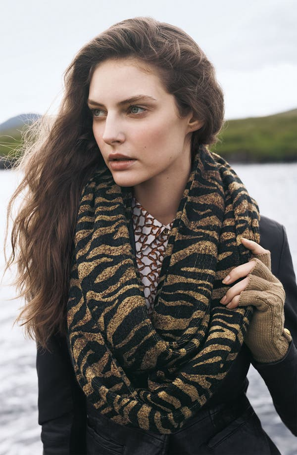 Alternate Image 2  - MICHAEL Michael Kors Animal Print Infinity Scarf