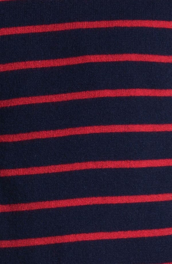 Alternate Image 3  - 1901 Stripe Cashmere Sweater