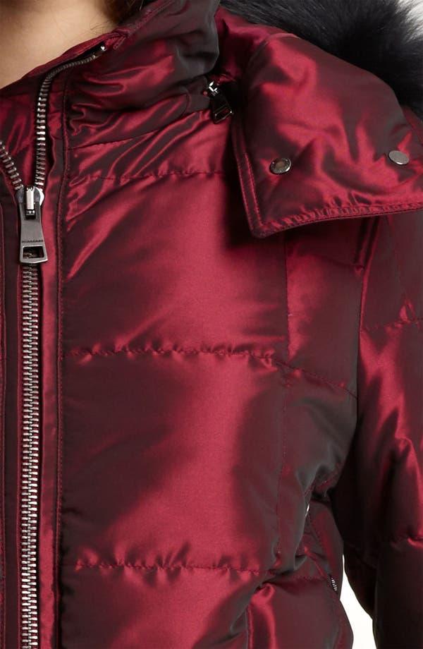 Alternate Image 3  - Burberry Brit Quilted Genuine Fox Fur Trim Down Jacket (Online Exclusive)