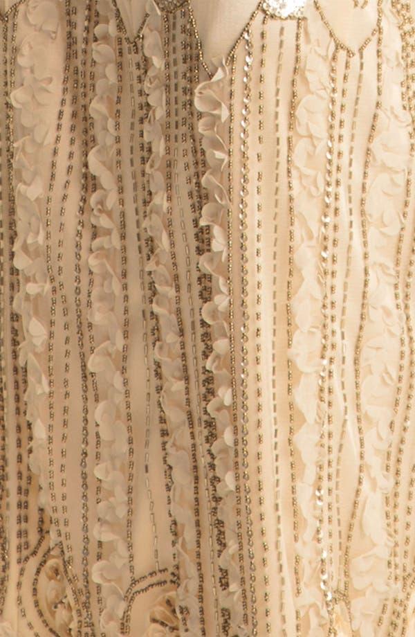 Alternate Image 3  - Sue Wong Embellished Sheer Back Mesh Gown