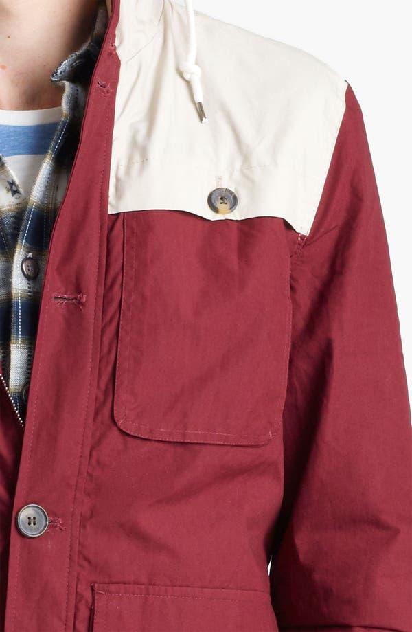 Alternate Image 3  - Topman Colorblock Hooded Jacket