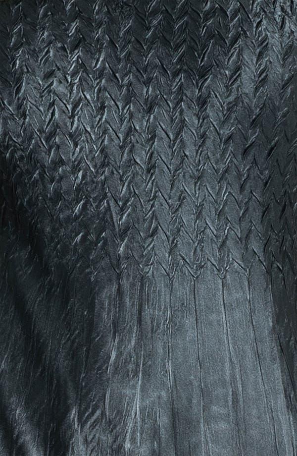 Alternate Image 4  - Komarov V-Neck Textured Charmeuse Dress & Chiffon Jacket