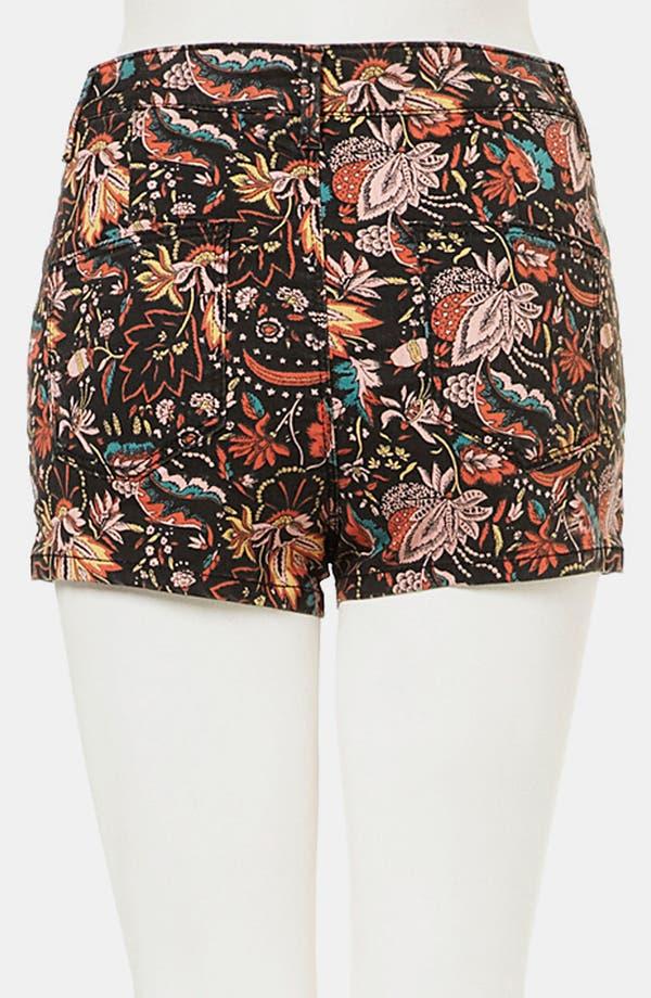 Alternate Image 2  - Topshop Moto 'Scandi' Floral Shorts