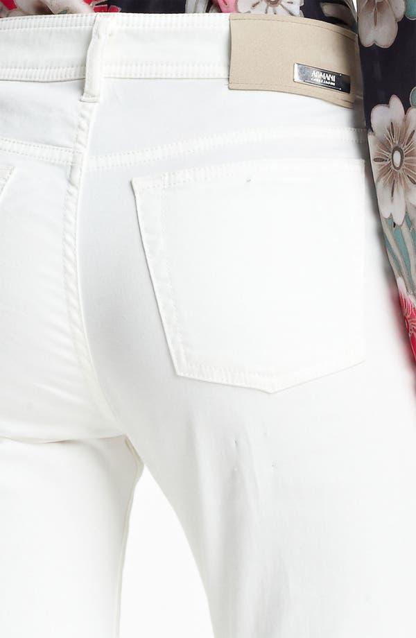 Alternate Image 4  - Armani Collezioni High Waist Stretch Jeans