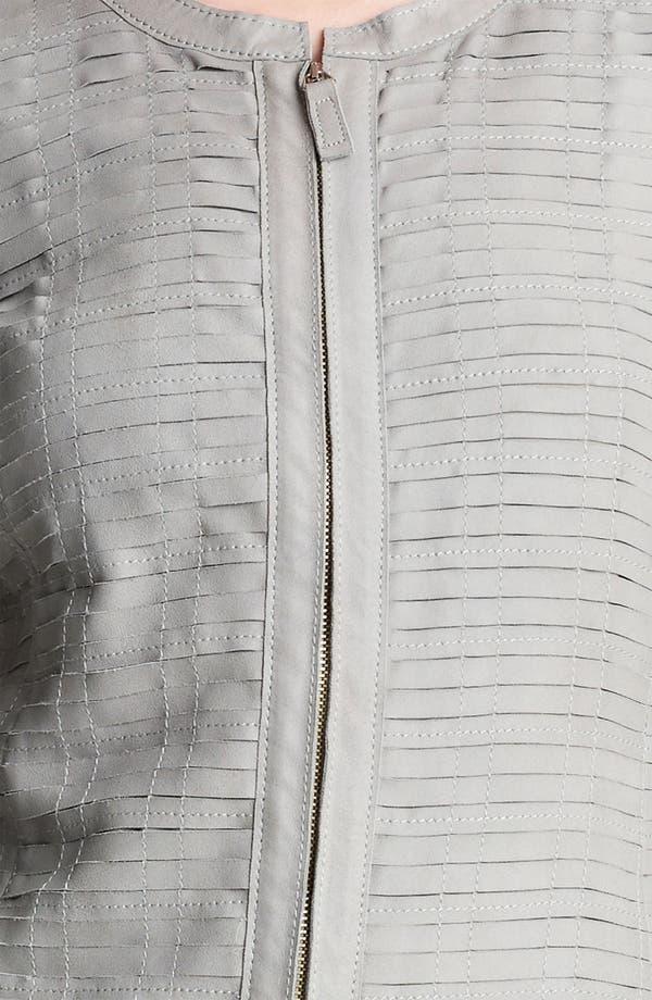 Alternate Image 3  - Armani Collezioni Goatskin Jacket