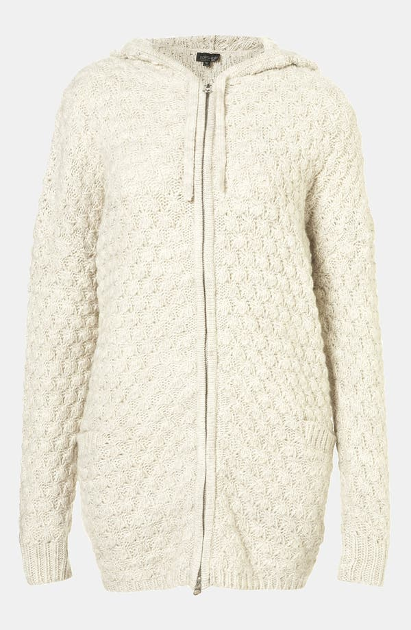 Alternate Image 1 Selected - Topshop Chunky Sweater Hoodie
