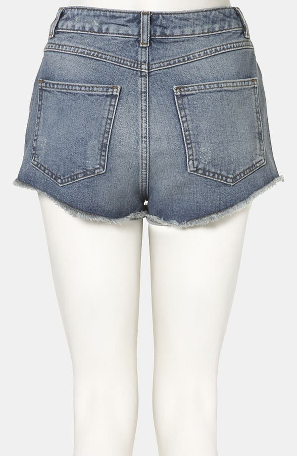 Alternate Image 2  - Topshop Moto 'Holly' Denim Shorts