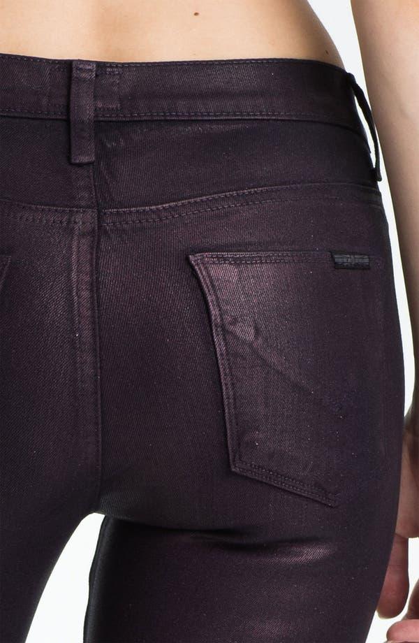 Alternate Image 3  - Hudson Jeans 'Nico' Mid Rise Skinny Stretch Jeans (Gothic Lotita)