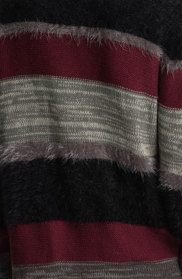 Alternate Image 3  - Trouvé Mix Knit Stripe Cardigan