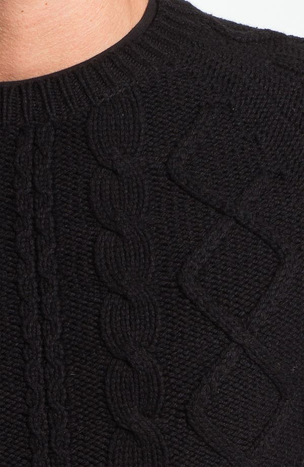 Alternate Image 3  - J.C. Rags Cable Knit Sweater