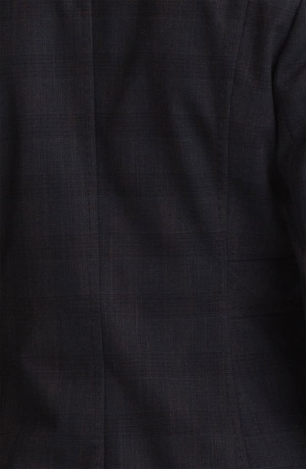 Alternate Image 3  - Halogen® Plaid Jacket (Petite)