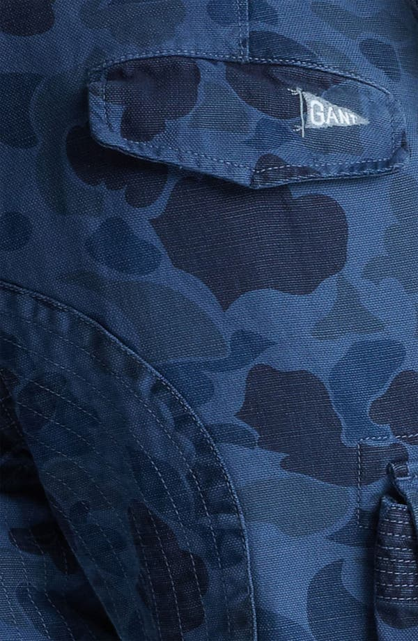Alternate Image 4  - Gant by Michael Bastian Skinny Camo Cargo Pants