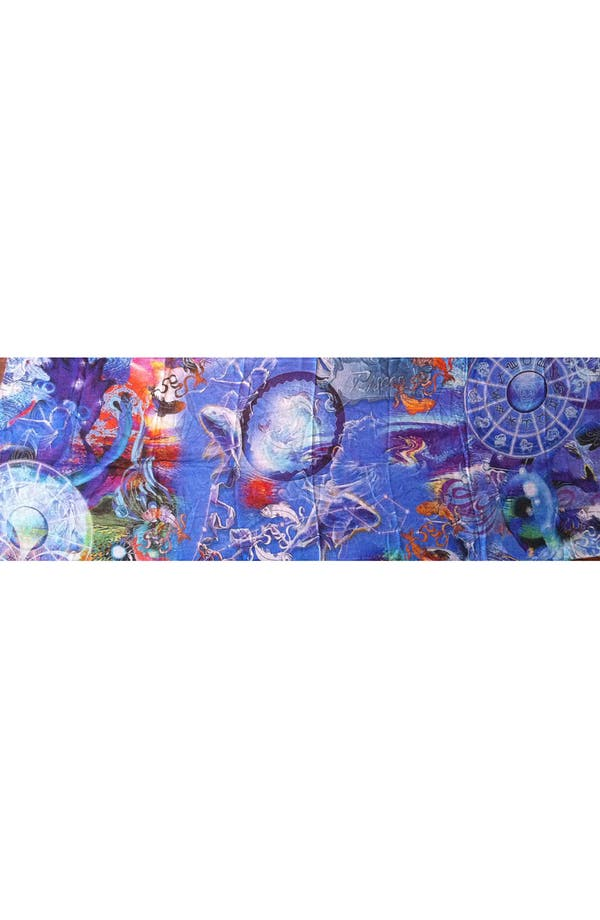 Alternate Image 3  - Shawlux 'Pisces' Cashmere & Silk Scarf