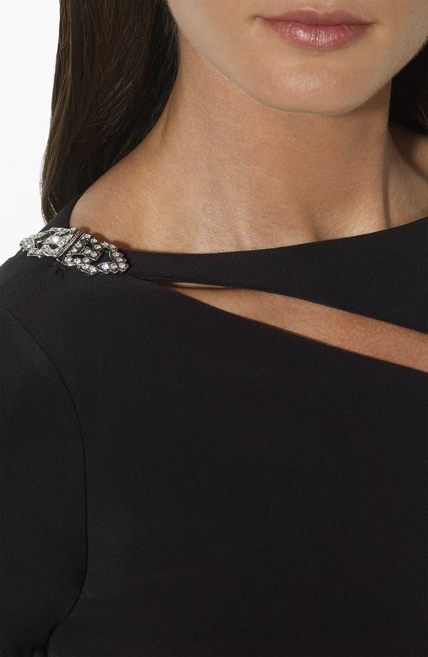 Alternate Image 3  - Lauren Ralph Lauren Asymmetrical Cutout Jersey Column Gown