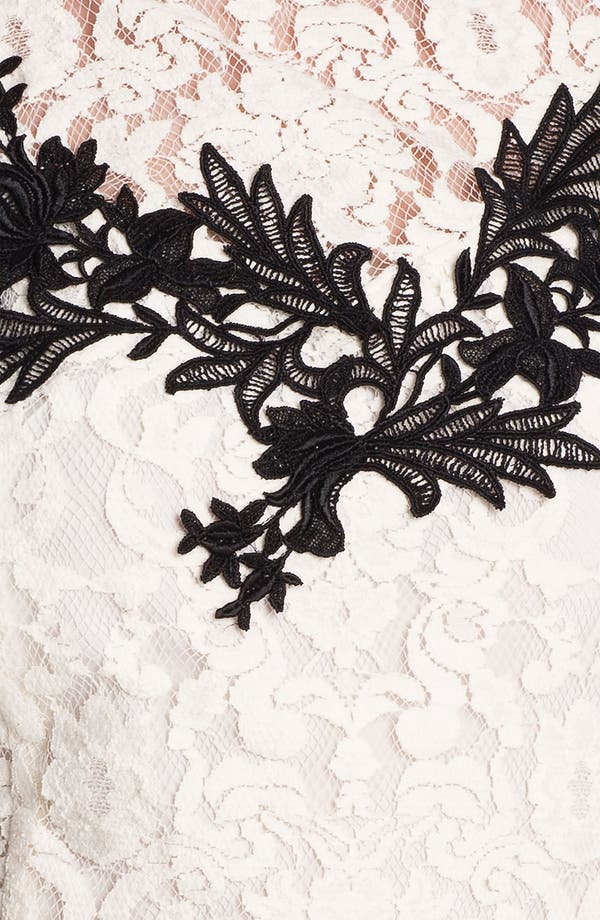 Alternate Image 3  - Nanette Lepore 'Good Fortune' Lace Top