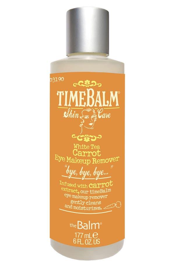 Main Image - theBalm 'TimeBalm®' Carrot Eye Makeup Remover