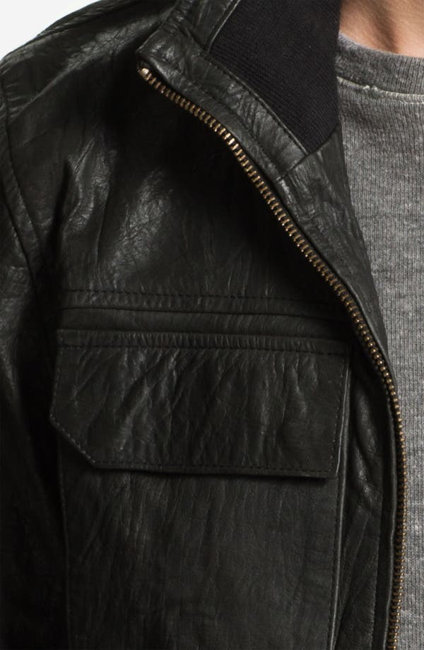 Alternate Image 3  - Zanerobe 'Buck' Leather Jacket