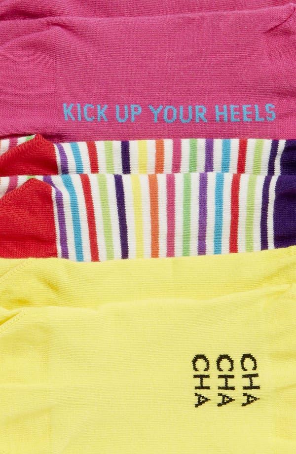 Alternate Image 3  - kate spade new york 'holiday' socks (3-Pack)