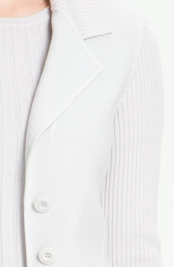 Alternate Image 5  - St. John Collection Fitted Crepe Jacket
