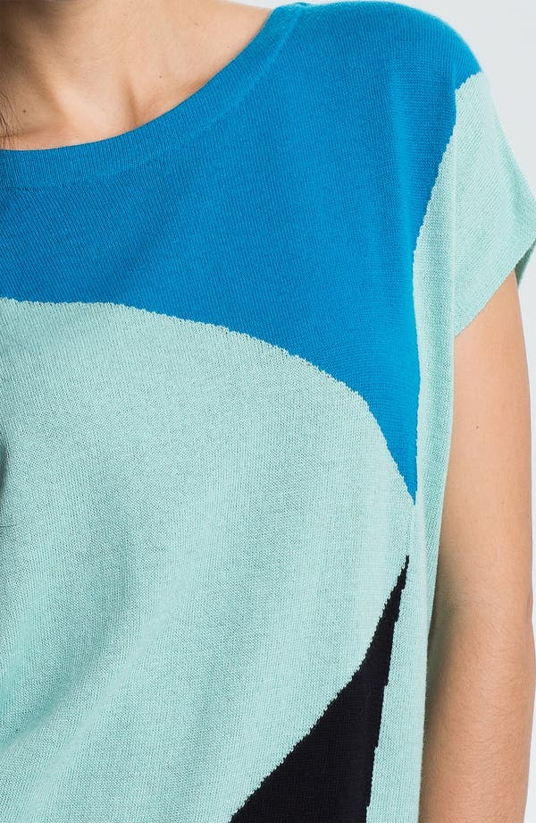 Alternate Image 3  - Vince Camuto Bateau Neck Colorblock Sweater