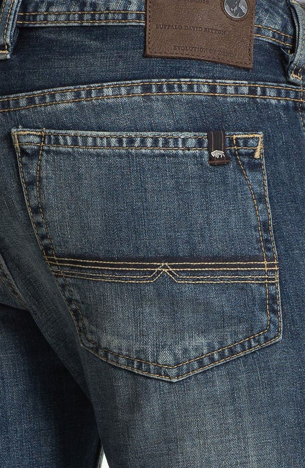Alternate Image 4  - Buffalo Jeans 'Driven' Straight Leg Jeans (Vintage Worn)