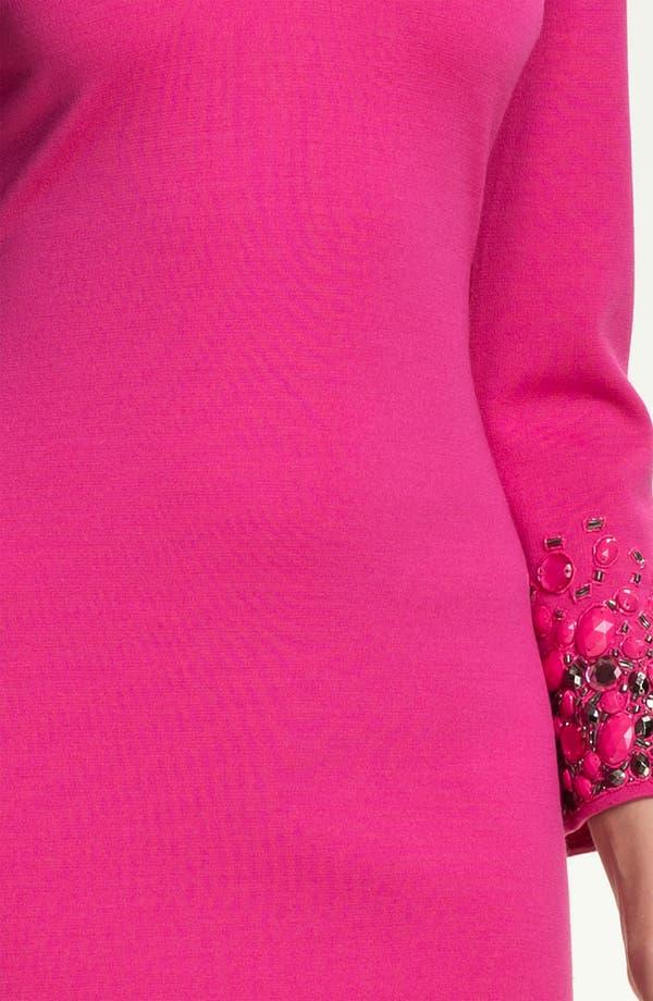 Alternate Image 3  - St. John Collection Milano Knit Hand Beaded Dress