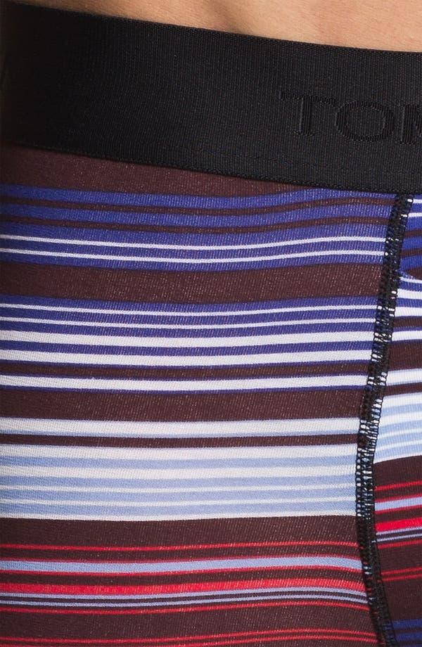 Alternate Image 3  - Tommy John 'Dude' Stripe Trunks