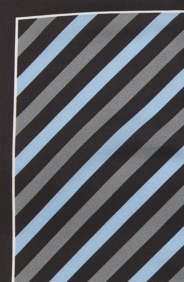 Alternate Image 3  - BOSS Black Cotton & Silk Pocket Square