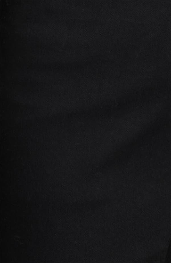 Alternate Image 4  - AG 'Matchbox' Slim Fit Jeans (Coated Black)