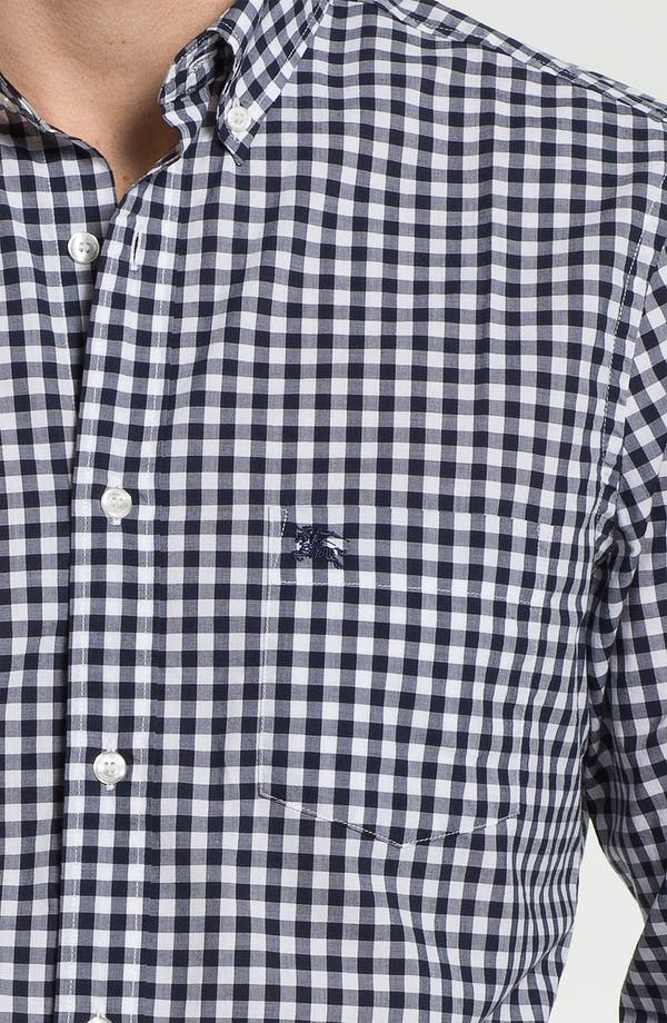 Alternate Image 3  - Burberry Brit Gingham Check Sport Shirt