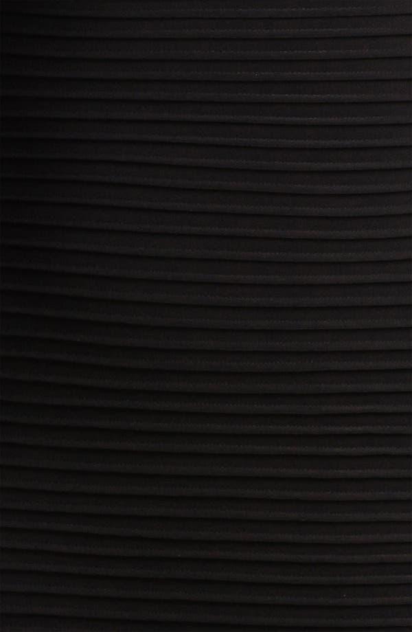 Alternate Image 3  - Calvin Klein Pleated Matte Jersey Sheath Dress (Plus)