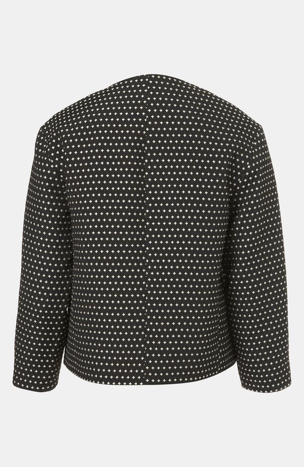 Alternate Image 2  - Topshop Star Jacquard Jacket
