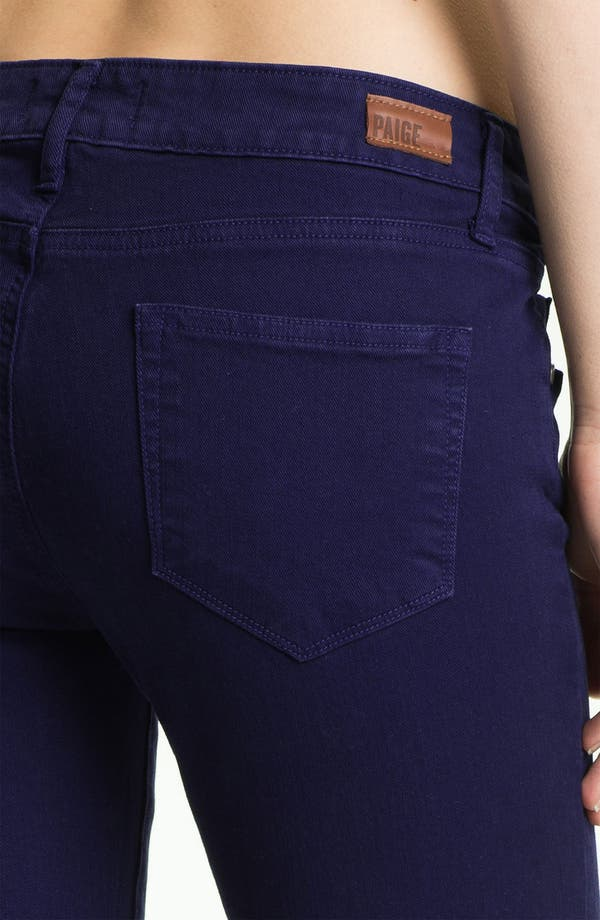 Alternate Image 3  - Paige Denim Ankle Zip Skinny Jeans (Pacific Dusk)