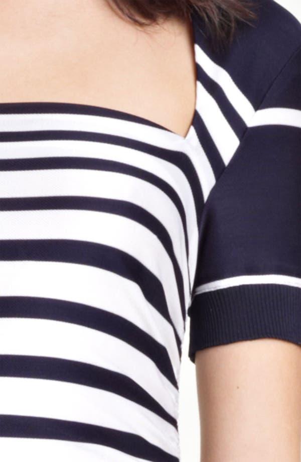 Alternate Image 3  - Jean Paul Gaultier Stripe Jersey Dress
