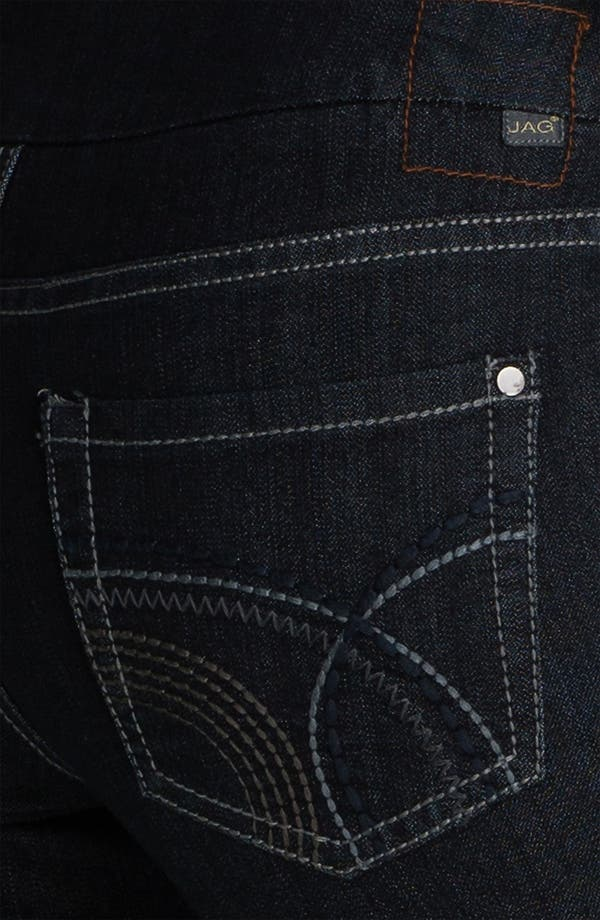 Alternate Image 2  - Jag Jeans 'Holland' Straight Leg Pull-On Jeans (Petite)