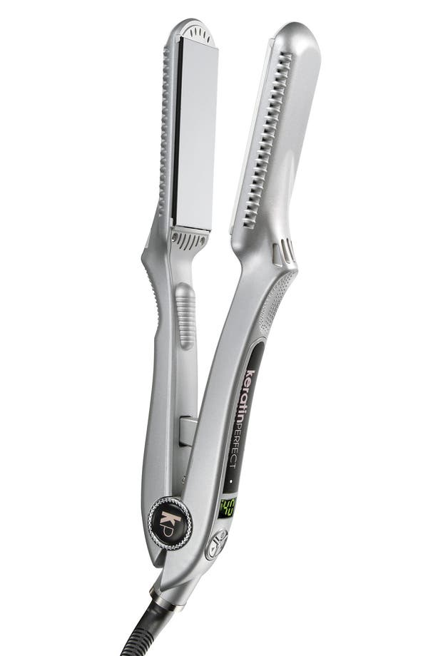 Alternate Image 1 Selected - KeratinPerfect 'PerfectLight' Infrared Smoothing Iron (1.5 inch)