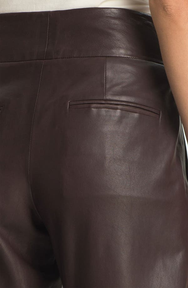 Alternate Image 3  - Theory 'Kina L.' Tapered Leather Pants